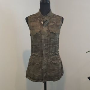 Sanctuary Army Cameo Vest